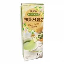 ชาเขียวมัทฉะ ผสมนมถั่วเหลือง ซอง stick Meito Matcha Soy Milk