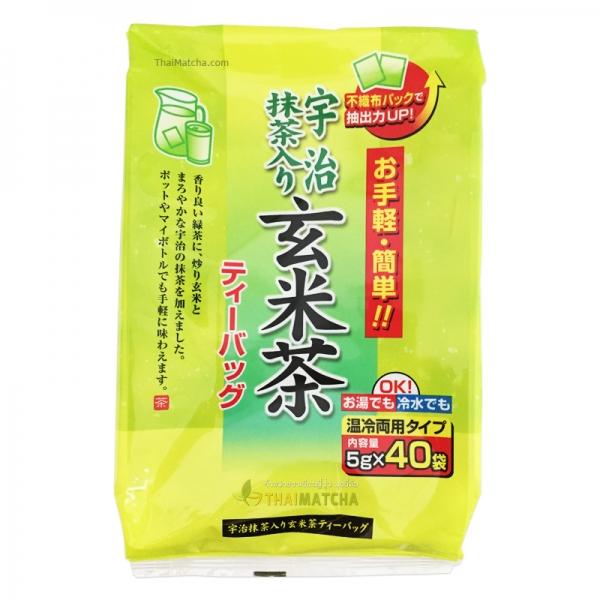Japanese Tea Uji Matcha ชาญี่ปุ่น อุจิมัทฉะ ชงได้ทั้งน้ำร้อน และน้ำเย็น