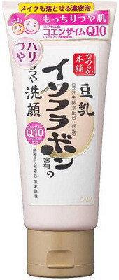 โฟมล้างหน้าเต้าหู้ SANA Nameraka Honpo Cleansing Foam Q10 150 g